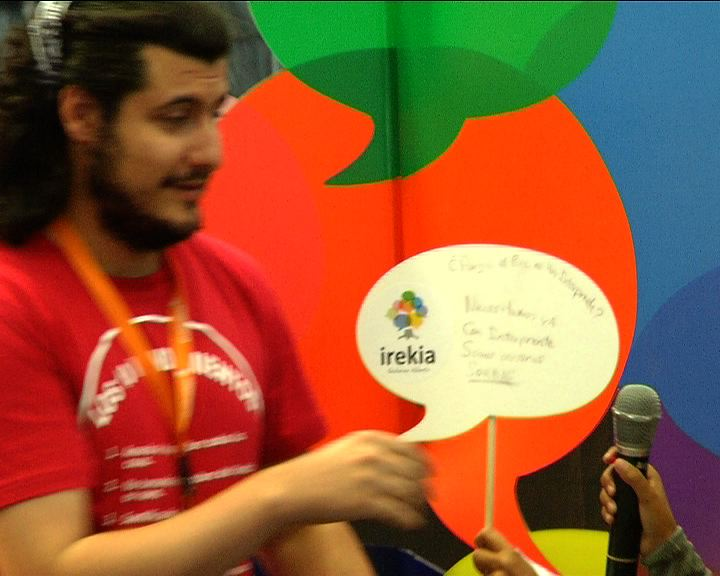 Video Irekia en la Euskal Encounter