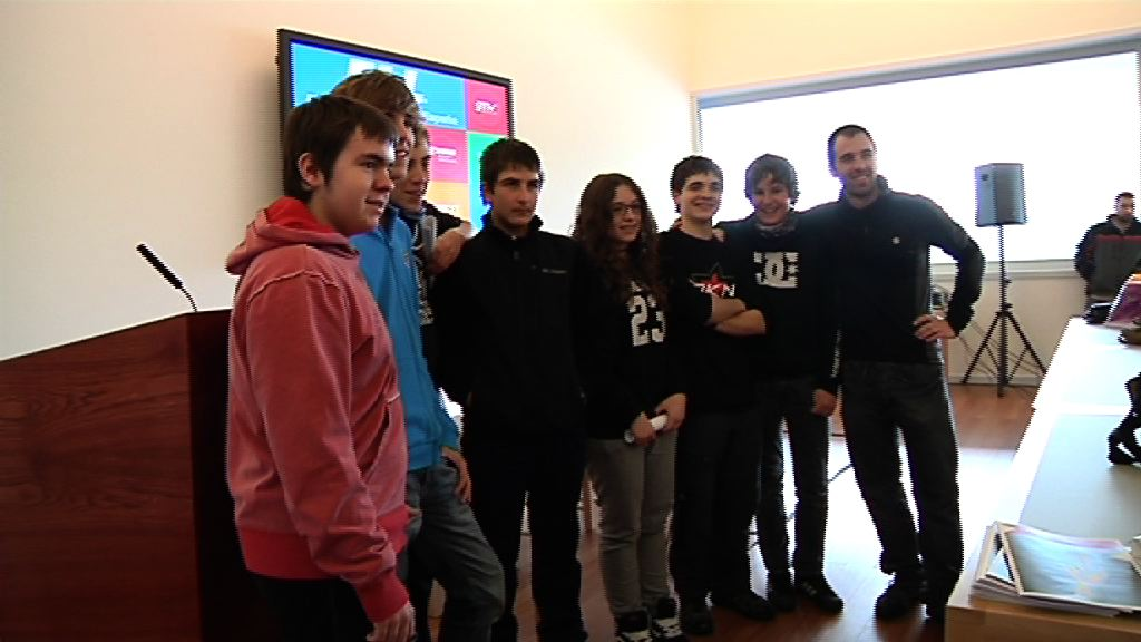 Video La First Lego League se juega en Euskadi