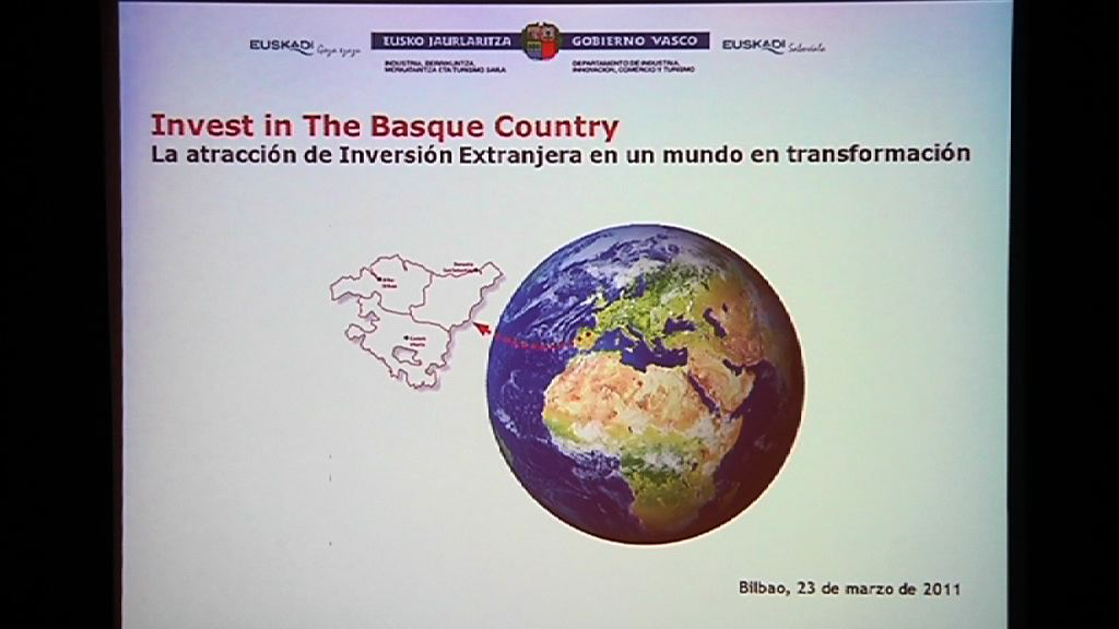 Video  &quot;Invest in the Basque Country&quot; esparru berriaren aurkezpena