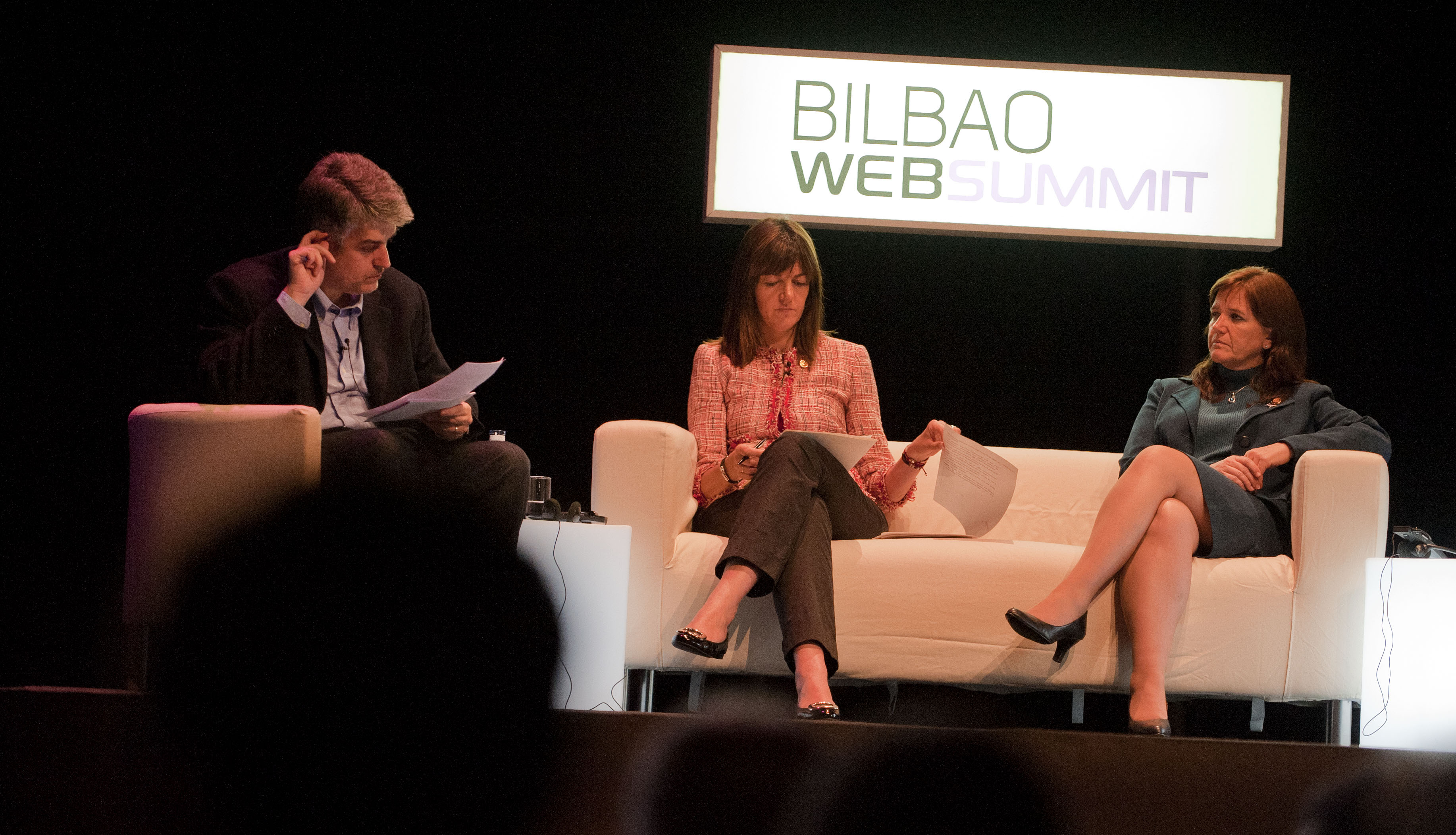 The Basque Government reduces the need for accreditation by 60% (Bilbao Web Summit)