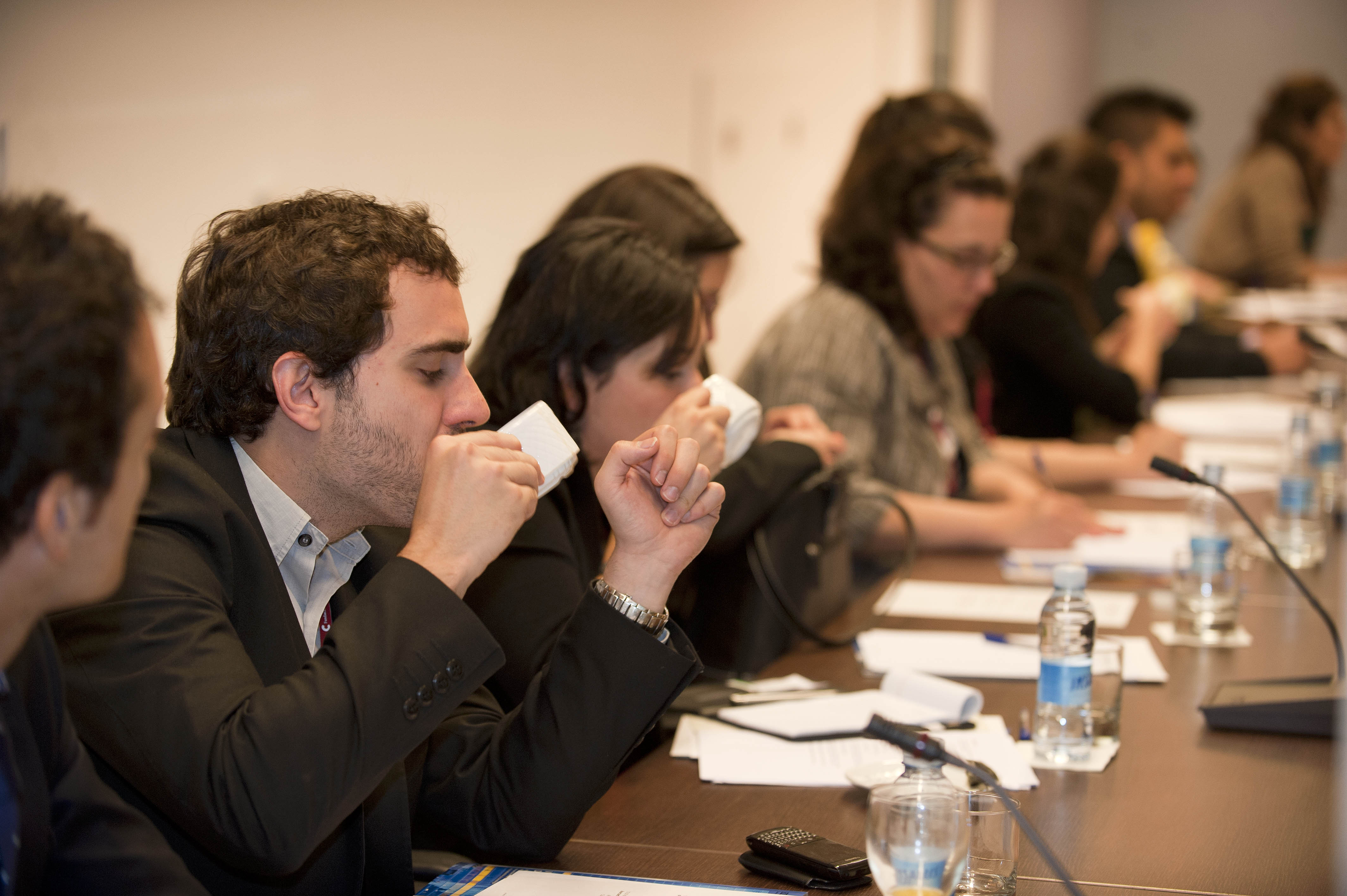 A group of Hispanic leaders from the USA spend two days in the Basque Country