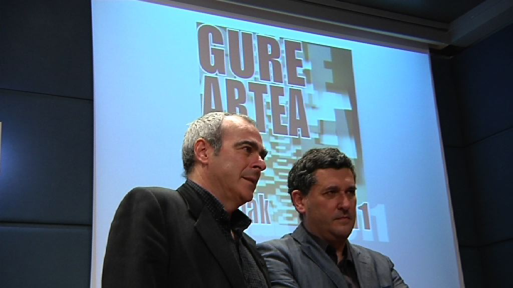Video Ibarrola, premio Gure Artea por su trayectoria artstica