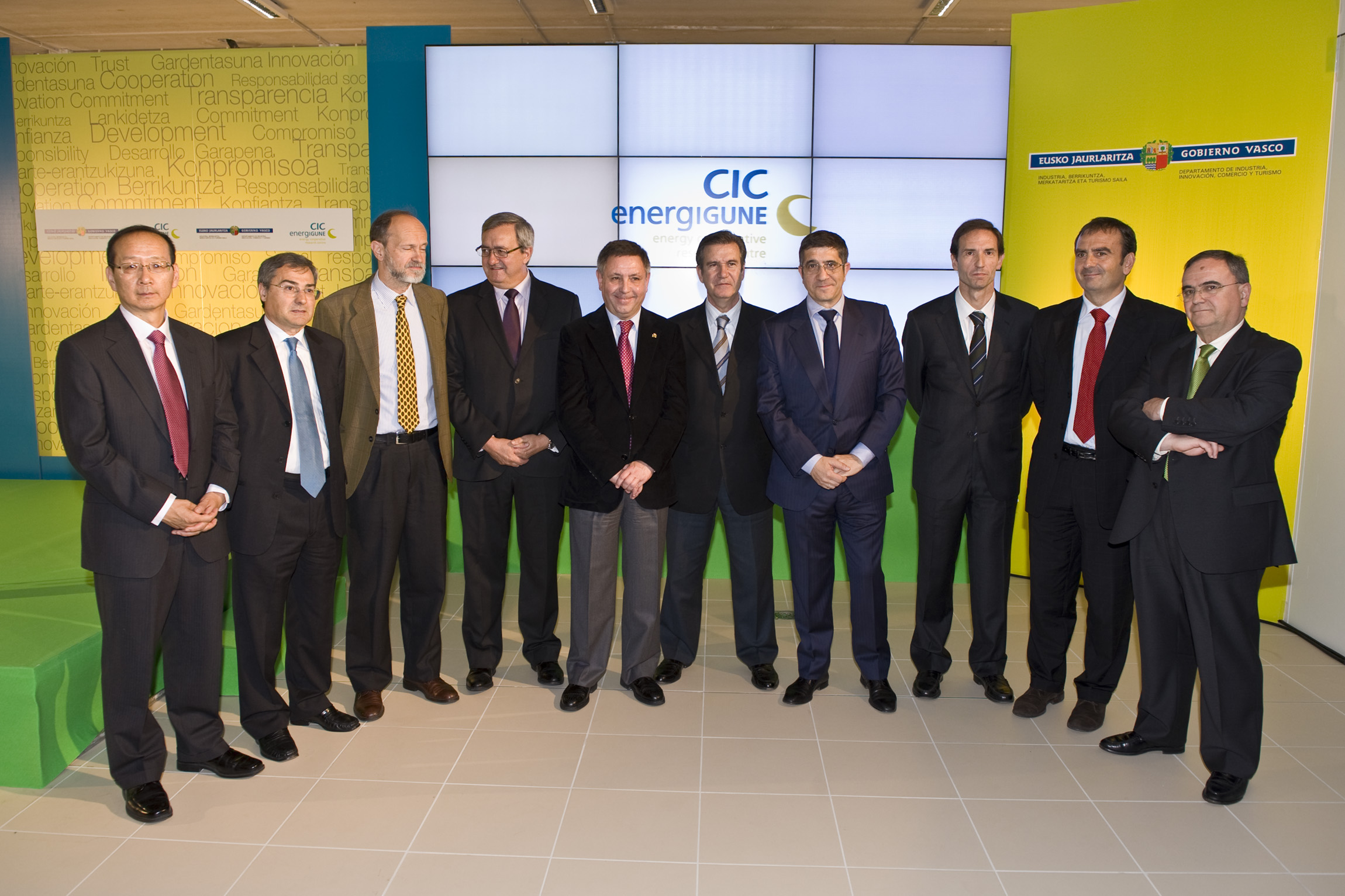 Inaugurado el CIC energiGUNE , el primer centro en almacenamiento de energa 