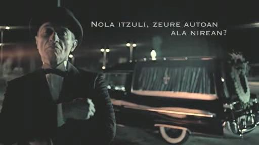 Video Nola itzuli, zeure autoan ala nirean?