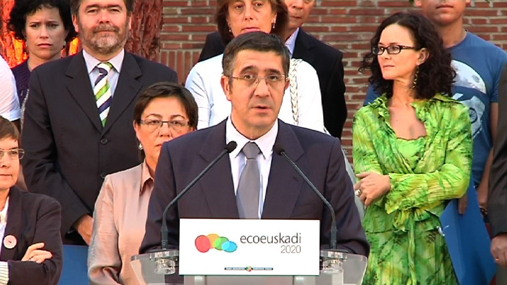 EcoEuskadi 2020 topaketan Lehendakariaren interbentzioa [8:34]