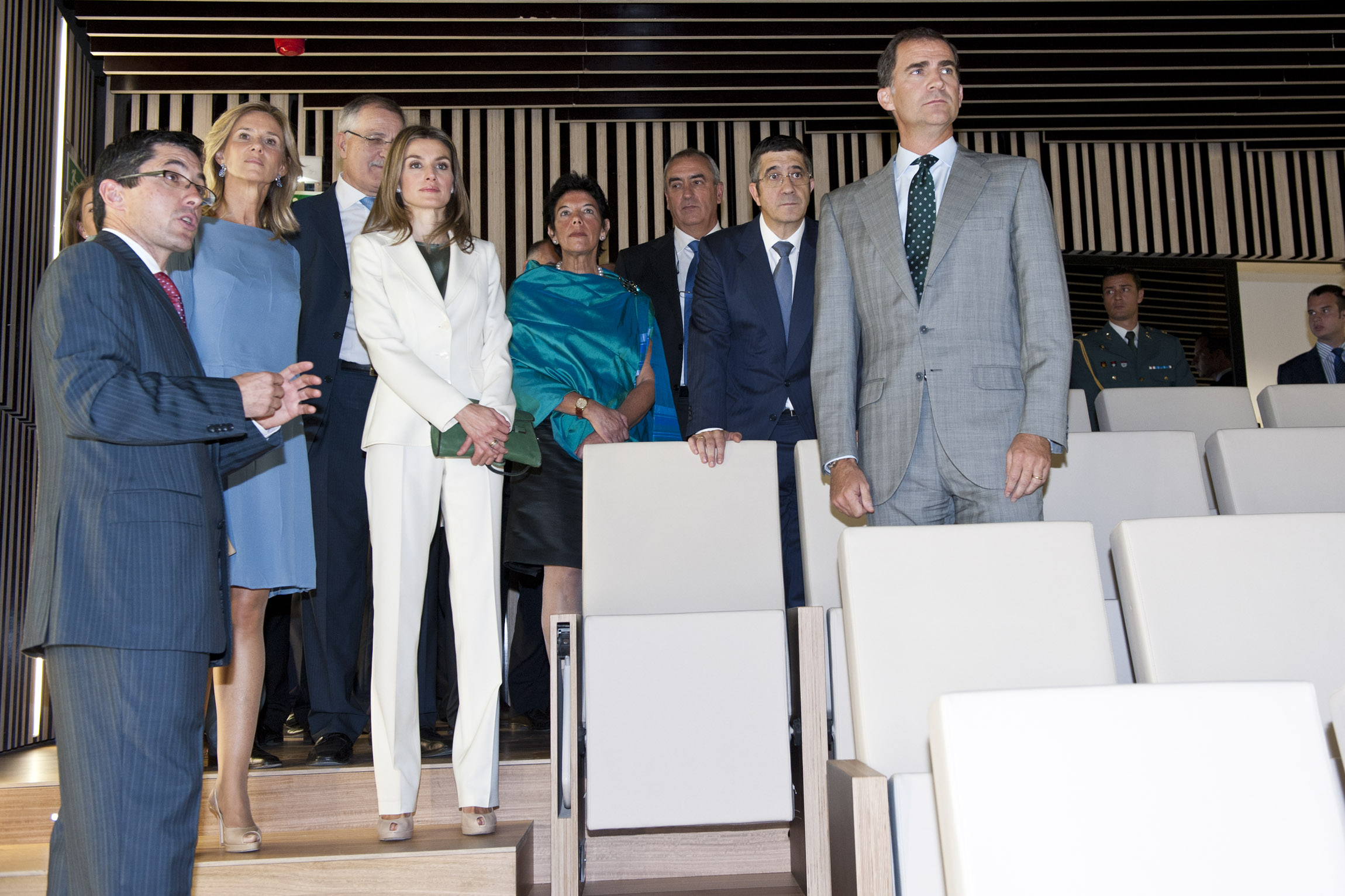 El Lehendakari y los Príncipes inauguran el Basque Culinary Center