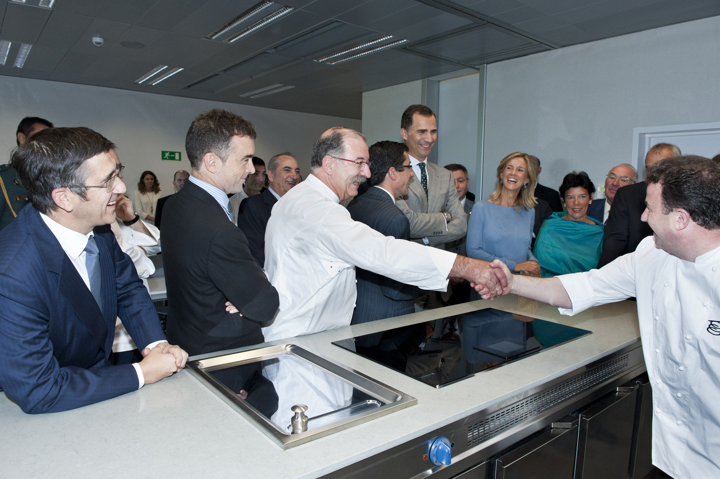 The Lehendakari and the Prince and Princess inaugurate the Basque Culinary Center
