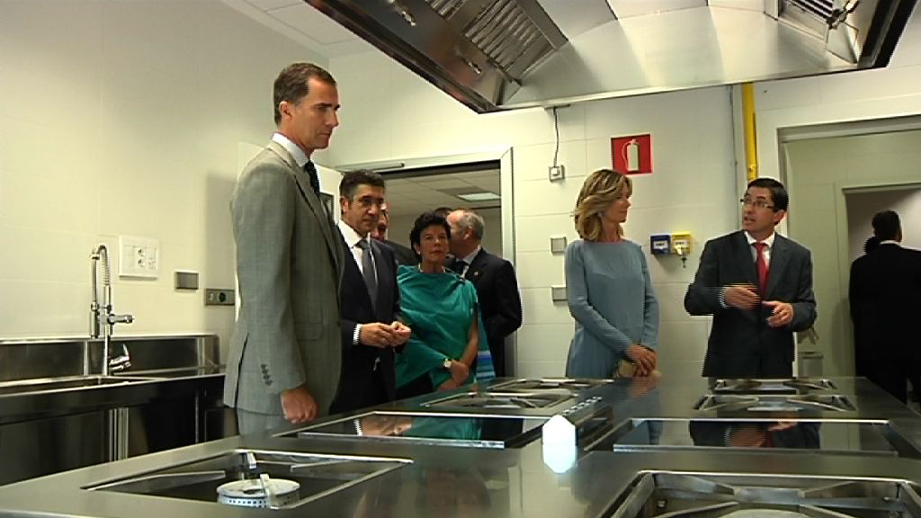 Video El Lehendakari y los Prncipes inauguran el Basque Culinary Center