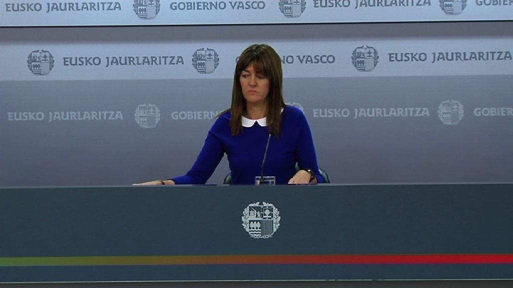 Video Aurrekontu superabitaren «datu onak» Eusko Jaurlaritza «egin behar duena egiten» ari dela erakusten du Mendiaren ustez