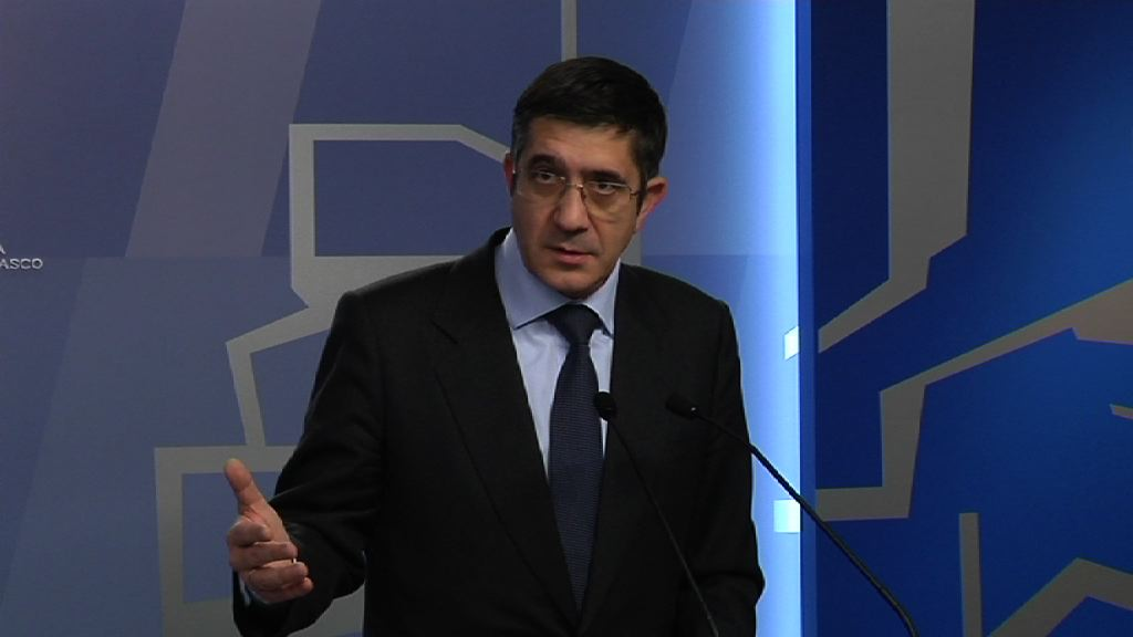 Video El Lehendakari exige a Rajoy adoptar medidas inmediatas que pongan fin al conflicto sanitario con La Rioja