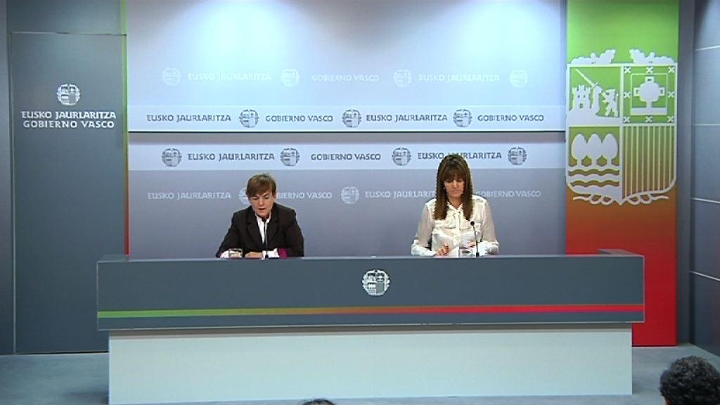Video Rueda de prensa tras el Consejo de Gobierno 20.12.2011