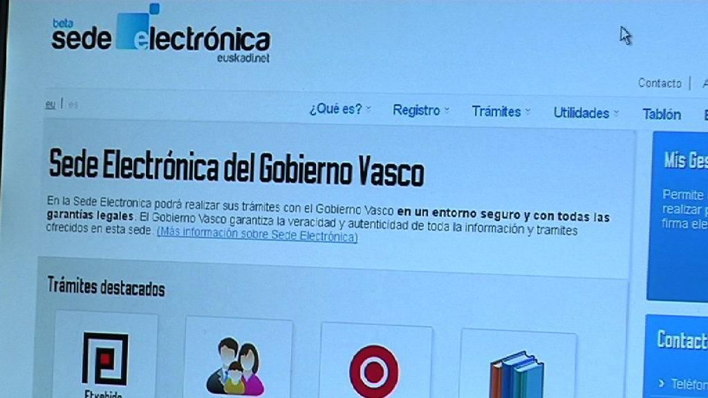 The Basque Government's public administration electronic office up and running as of today