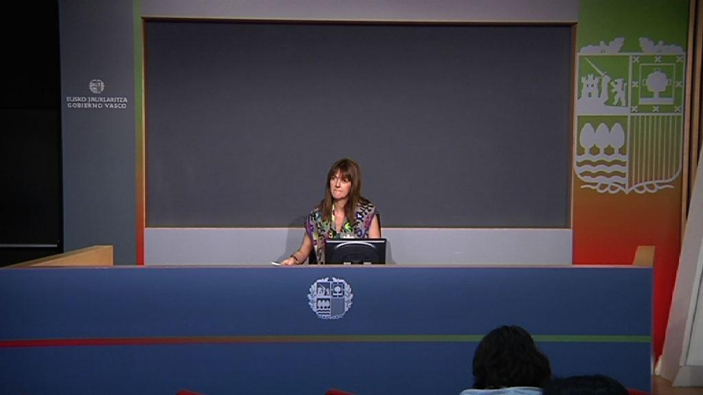 Video Rueda de prensa de la portavoz del Gobierno Vasco, Idoia Mendia, tras la reunion del Consejo de Gobierno