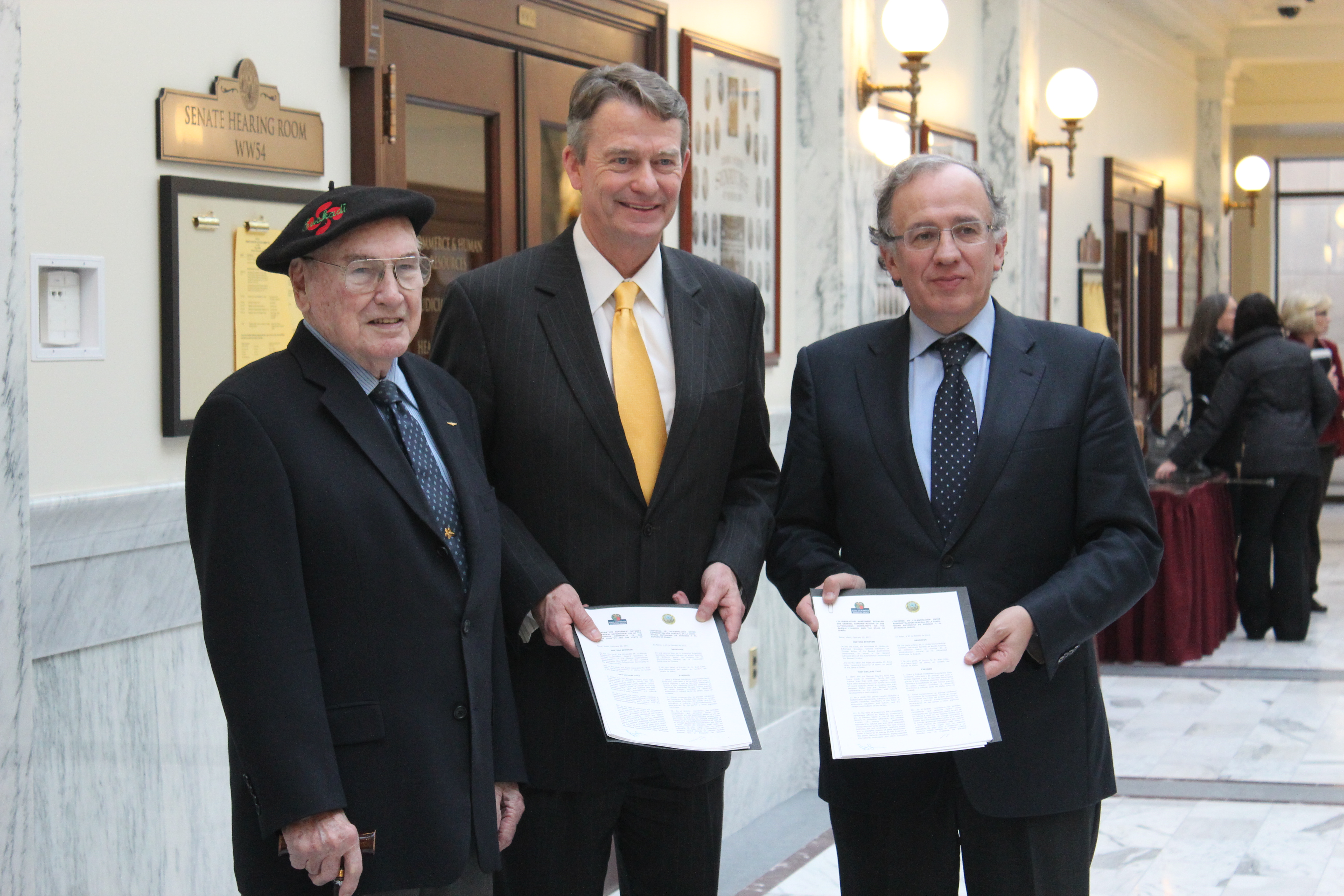 The Basque Government signs a partnership agreement with the State of Idaho