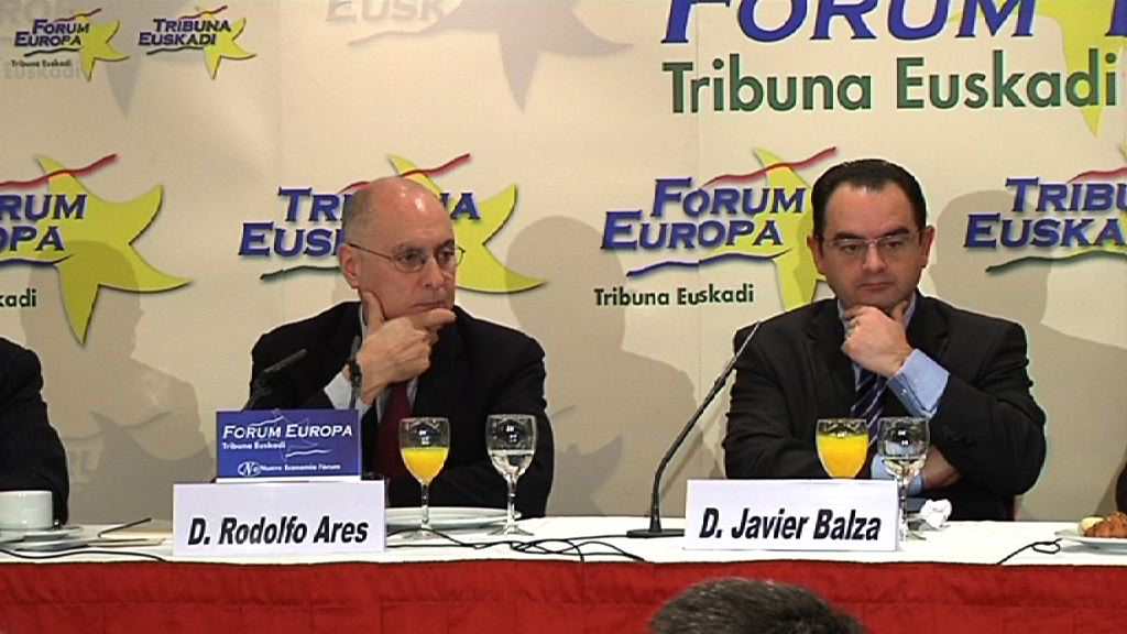 Rodolfo Ares en el 'Foro Europa - Tribuna Euskadi'