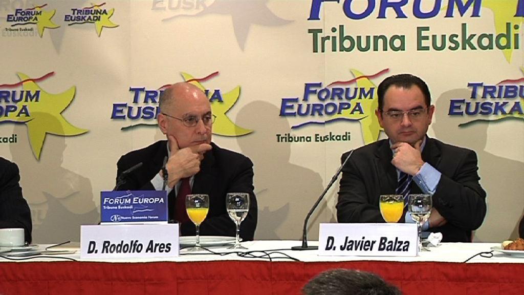 Video Rodolfo Ares en el 'Foro Europa - Tribuna Euskadi'