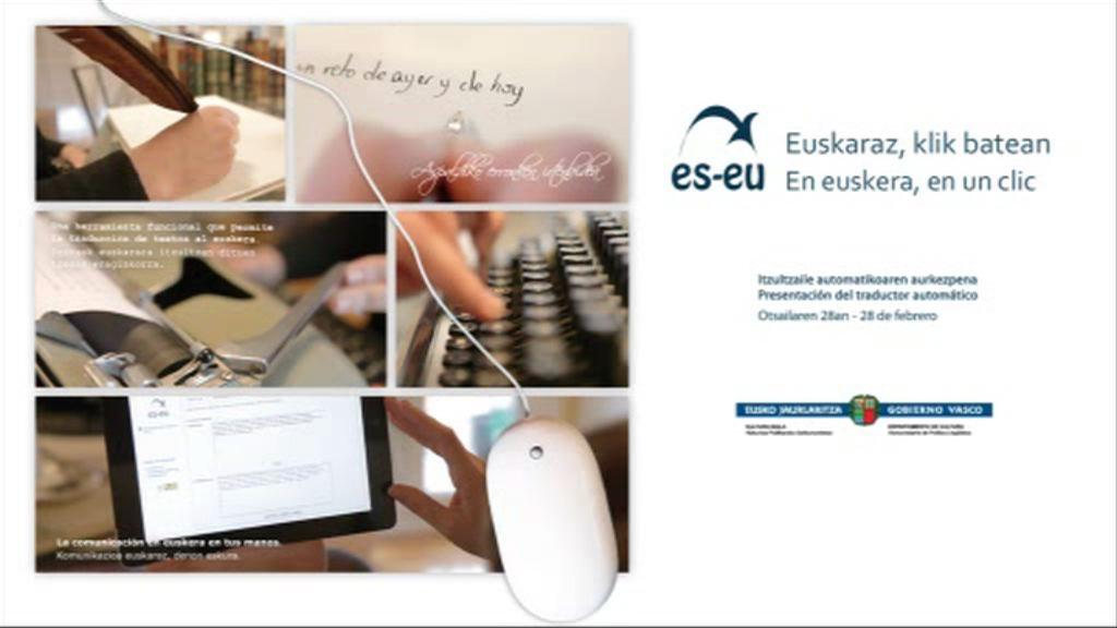 La comunicación en euskera, en tus manos [1:30]