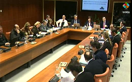 Video Comparecencia: Consejero de Economía, Hacienda (13-3-2012)
