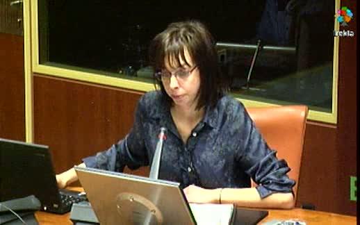 Video Comparecencia: Directora Agencia Vasca de Cooperación al Desarrollo, (18-04-2012)