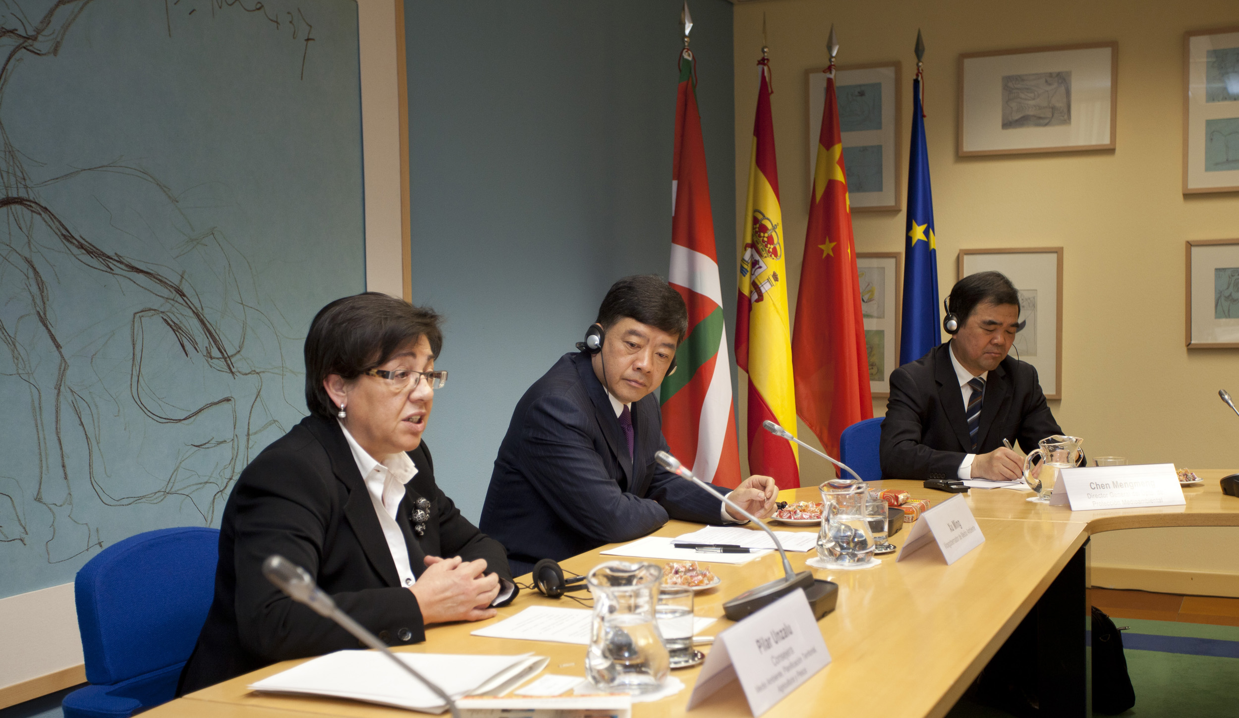 The Basque Government signs an agreement with the Chinese province of Jiangsu