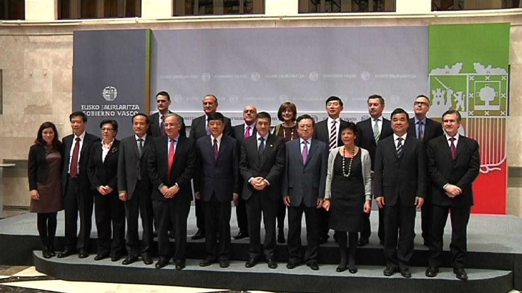 Video The Basque Government signs an agreement with the Chinese province of Jiangsu