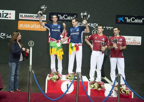 Final Campeonato de Mano Parejas Euskadi Saborala