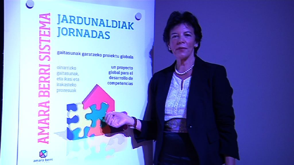 Video Arrancan las jornadas del modelo educativo Amara Berri