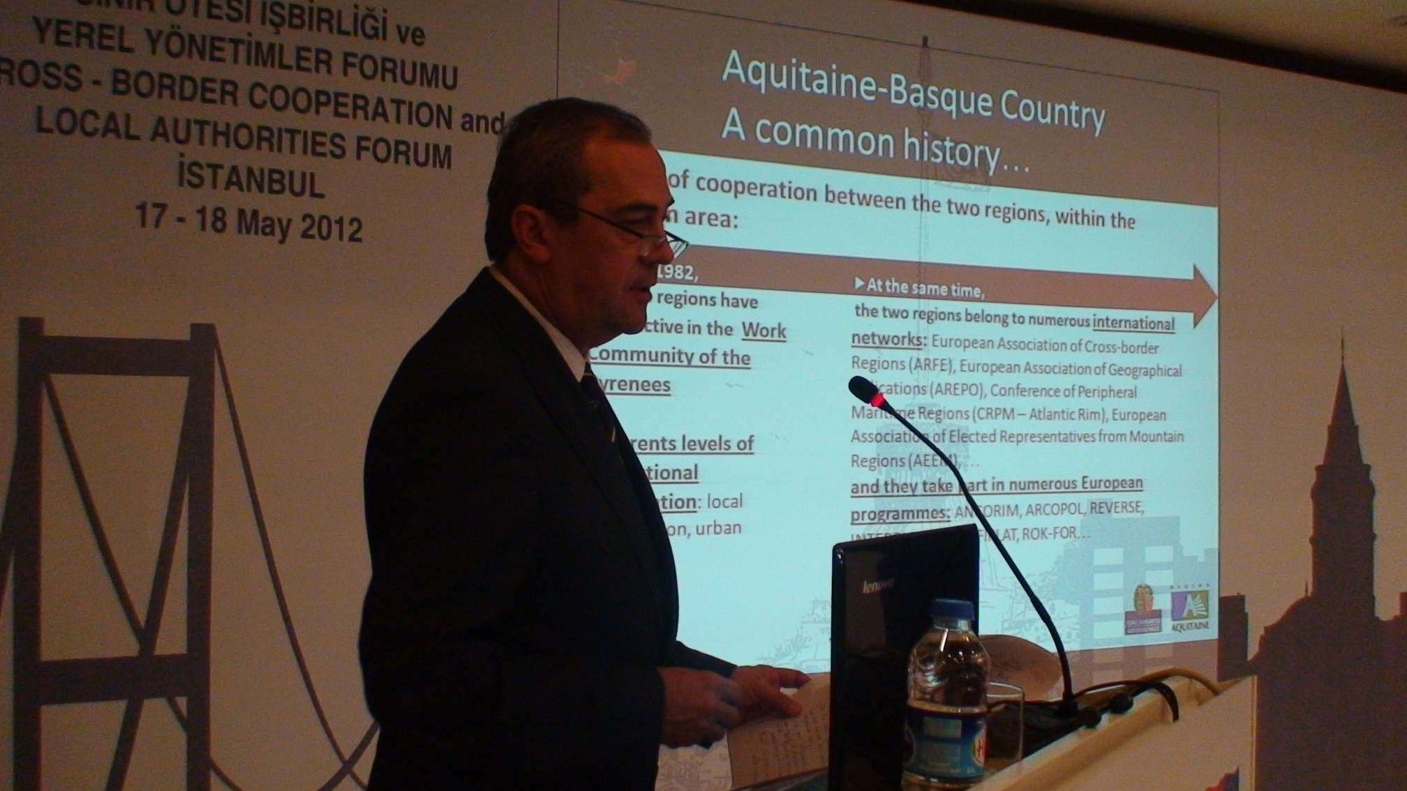 The Basque Government showcases its cross-border strategy with Aquitaine in Istanbul
