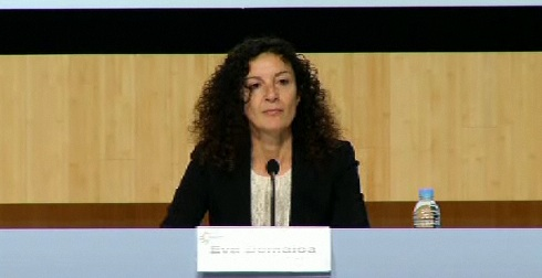 Video ltima jornada del Congreso sobre Memoria y Convivencia, Eva Domaica