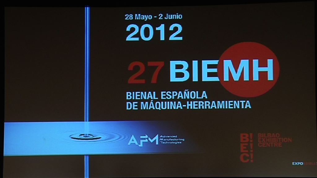 Video Bernabé Unda opens the Machine-Tool Biennial at the BEC