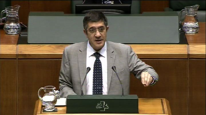 Video Lehendakari: &quot;Euskadi tiene la carga financiera ms solvente de Espaa&quot;