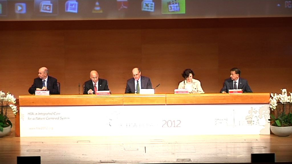 Video Authorities open 9th HTAi Annual Meeting Bilbao, el camino hacia la medicina personalizada