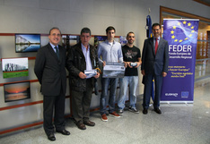 Entrega de premios del concurso fotogrfico para jvenes vascos, Dnde ves Europa en Euskadi?