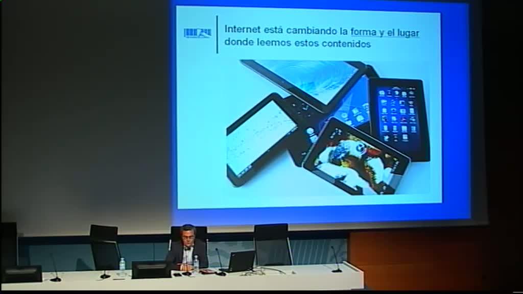 Conferencia sobre el préstamo online de libros digitales
