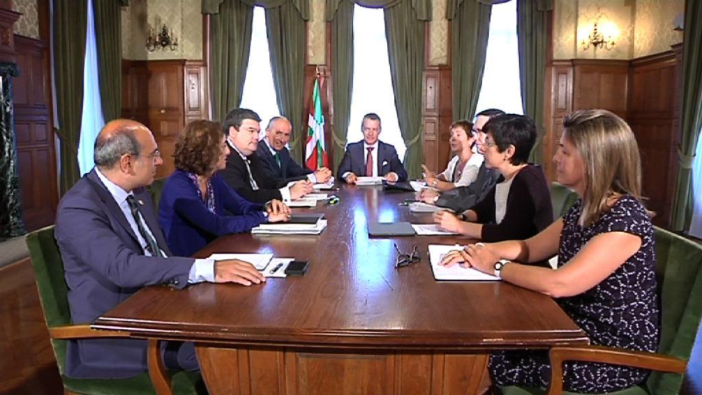 Video El Gobierno Vasco celebra el primer Consejo de Gobierno del nuevo curso político