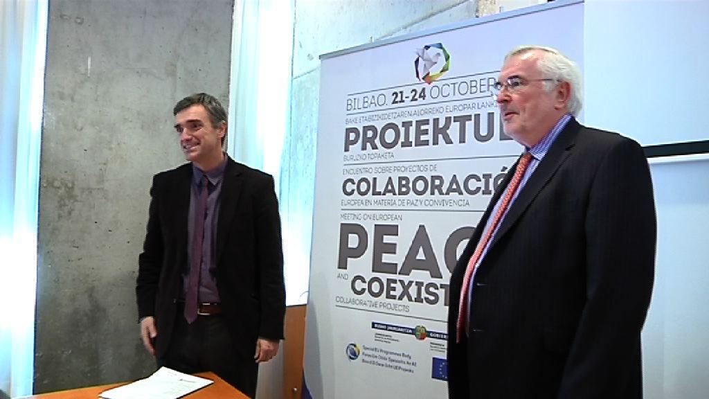 Video Euskadi e Irlanda del Norte presentarán  proyectos sobre víctimas, educación, juventud y reinserción en el programa europeo PEACE IV