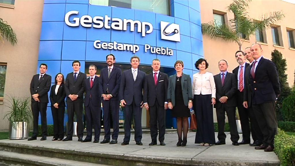 Video El lehendakari inaugura la planta de matricería de Gestamp en México, la primera experiencia publico-privada vasca en el exterior