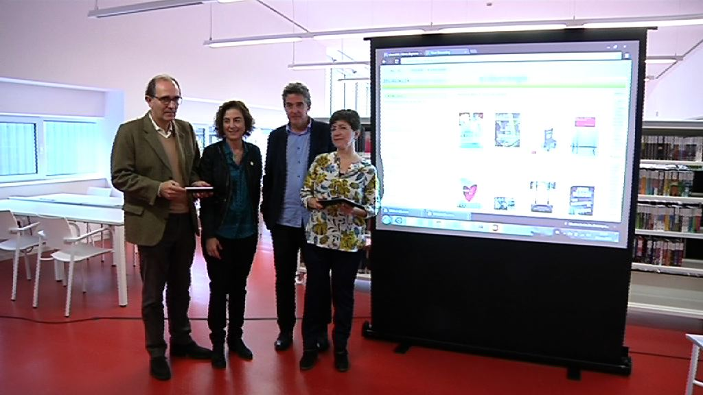 Video Arranca la Biblioteca Digital de Euskadi