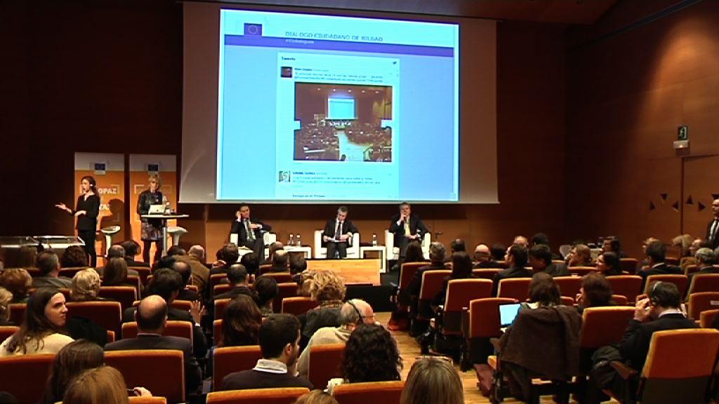 Video El lehendakari propone la gestión directa de los fondos europeos previstos para Euskadi