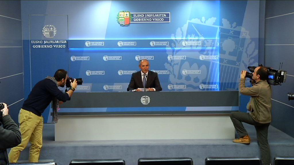 Rueda de prensa del portavoz del gobierno departamento - Departamento de interior del gobierno vasco ...