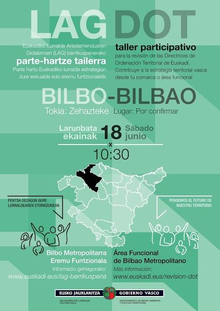 Cartel taller participativo Bilbao